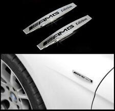2x AMG Emblem Auto Logo Schriftzug Aufkleber Plakette Badge für BENZ AMG Edition