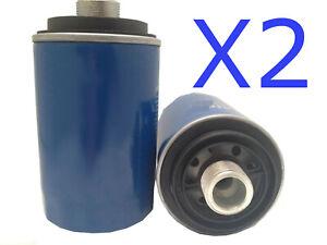 2X Oil Filter Suits Z793 VOLKSWAGEN TIGUAN 5N 125TSI Petrol 4CYL 2L CCZA 10-11