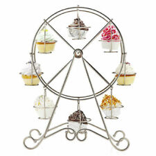 8 Cupcake Stand Ferris Wheel Display Holder Wedding Birthday Party Table Decor
