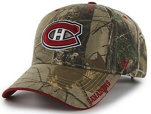 Montreal Canadiens NHL '47 MVP Realtree Camo Frost Hat Cap Adult Mens Adjustable
