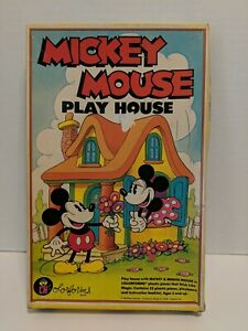 Vintage Mickey Mouse Play House Colorforms