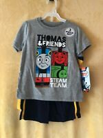 Jeans and Shirt set NEW  BOYS 4T THOMAS AND FRIENDS TRAIN  Vest