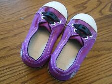 Crocs size 7 toddler plum athletic slip-on shoes NEW