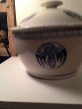 Delftware Blue Crockware Hot Pot