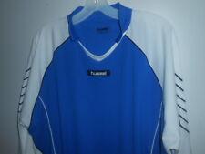 Hummel Long Sleeve Men's Shirt Blue & White ( XL ) / BRAND NEW