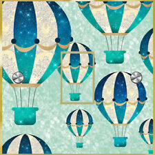 Hot Air Balloon UK Light Switch Sticker