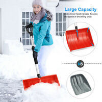 MOVTOTOP Strain-Reducing Snow Shovel Cleaning Tool Outdoor Spring Assist Handle