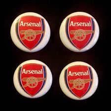 "ARSENAL FOOTBALL CLUB Badge Pin Button Lot Collectible 1"" FC Pinback (Set Of 4)"