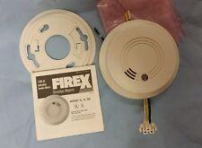 Smoke Alarm ,Detector ,Firex model 41213 ,120VAC , with LED Indicator,  G,H,GC ,