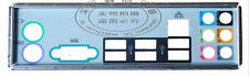 MSI I/O IO SHIELD BACKPLATE MS-7519 P43-C51 V2.0 / P43-C51V2.1  #G743 XH