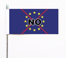 EU NO Anti European Union Ultimate Table Flag