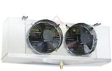 Low Profile Walk-In Cooler Evaporator 2 Fans Blower 12,000 BTU / 1,400 CFM, 115V