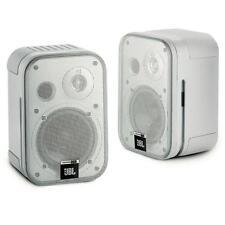 2 JBL Control One Regal Lautsprecher (Silber) NEU Fachhandel