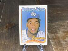 1989 Topps Gary Sheffield Milwaukee Brewers #343 Baseball Card