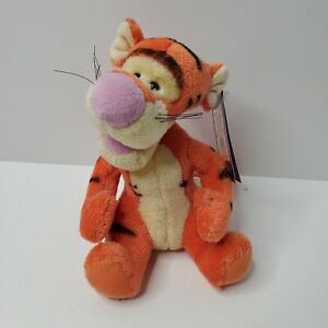 """Gund - Wind Up/Musical Tigger Plush - 100 Acre Collection - 7"""" New with Tags"""