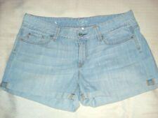 Ann Taylor Womens Size 8 Shorts Blue Denim Pockets