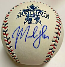 Chicago Cubs Marlon Byrd Signed Baseball Autographed MLB and Fanatics Hologram