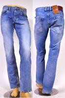 NEU! PEPE Jeans JEANIUS hellblau S55 Comfort Fit Straight Leg  W31 W33 W36 W38
