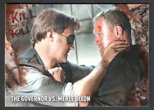 THE WALKING DEAD SURVIVAL BOX PARALLEL ROTTEN KILL OR BE KILLED CARD #4 (#15/25)