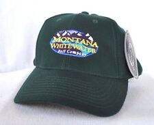 *MONTANA WHITEWATER RAFT CO* Rafting Fitted Stretch fit Ball cap hat S/M OURAY