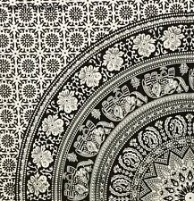 Square Flower Table Cloth Wall Hanging Tapestry Indian Mandala Ethnic Posters