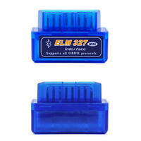 1X Car Engine System Diagnostic Detector Blue Mini ELM327 V2.1 OBD2 II Bluetooth