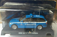 "DIE CAST "" BMW 320 D TOURING - 2003 "" POLIZIA SCALA 1/43"