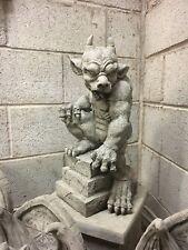 Gargoyle stone ornamets,The Guardian Gargoyle,Large heavy Garden stone figure