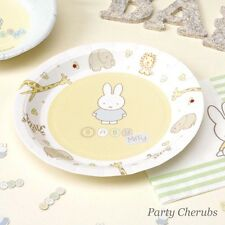 Baby Miffy - Paper Plates x 8 - Baby Shower /1st birthday
