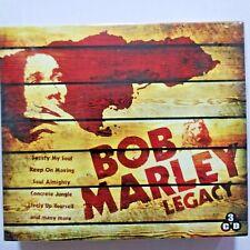 Bob Marley Legacy 3CD Box Set EU Import ships from USA-Sealed