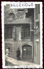 Lourdes . maison de Bernadette . photo ancienne . Juin 1946