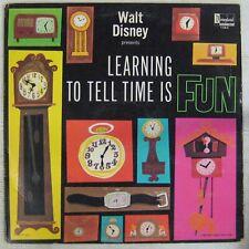 Walt Disney 33 tours Apprendre l'heure est amusant !