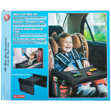 Car Seat Snack & Play Tray Travel Table Storage Organiser Activity Drawing Board