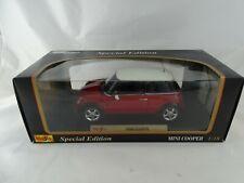 1:18 Maisto Special Edition  #31619 Mini Cooper rot