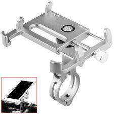 Ociodual 91502 Soporte para Móvil apto para Manillares con Diámetro entre 21 a 32mm - Plata