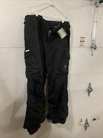 Mens Burton LTD Snowboard Pants - Large. Black