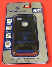 ALLEN iPhone 4 / 4/s Phone case PROTECTED BY SMITH & WESSON Black with S&W LOGO