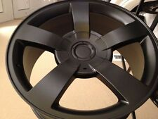 4 NEW 20x8.5 Chevrolet Silverado SS Wheels Matte Blk OE Factory Replica