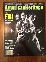 AMERICAN HERITAGE MAGAZINE Sept 2002 The FBI Dixie Victory Southern Pop Culture