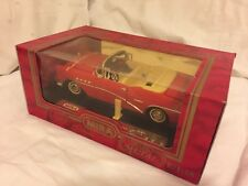 MIRA 1:18 BUICK CENTURY CONVERTIBLE 1955 Die-Cast Mint in Boxed NEW RED NIB 6134