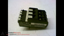 TELEMECANIQUE LR2 D1312, THERMAL OVERLOAD RELAY, 575VAC,8A #159528