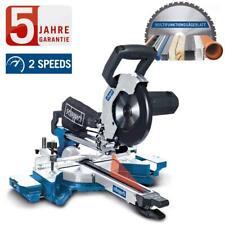 Scheppach Multifunktions Kapp und Gehrungssäge Zugsäge HM90MP mit Laser, 216 mm