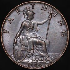 More details for 1904 | edward vii farthing | bronze | coins | km coins