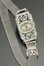 Extraordinary Luxury Ladies Platinum Diamond Eberhard & Co. Watch | 1.32 CTS TW