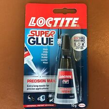 LOCTITE Super Glue Precision Max Extra Long Nozzle - Water/Shock Resistance 10g