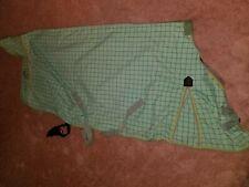Kensington cotton Poly Day Sheet, 84� Green Plaid