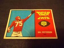 1964 Topps CFL #31 Hal Patterson Hamilton Tiger-Cats - vg (tm)