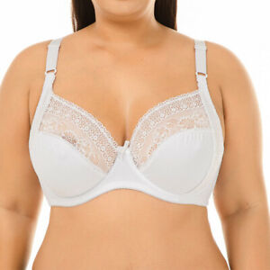 Large Size Women Bras Breathable Brassiere Non Padded Big Breasts Lingerie Tops