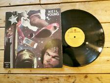 NEIL YOUNG AMERICAN STARS 'N BARS LP 33T VINYLE EX COVER EX ORIGINAL 1977
