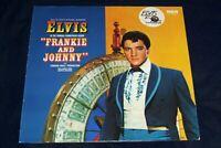 Elvis Presley LP Frankie And Johnny (German Black) (RCA NL82559,)EX/CONDITION ''